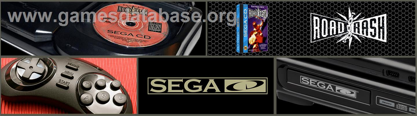 Road Rash - Sega CD - Artwork - Marquee