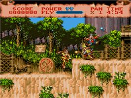 In game image of Hook on the Sega CD.