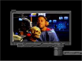 In game image of Make My Video: Kris Kross on the Sega CD.