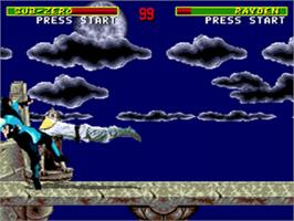 In game image of Mortal Kombat on the Sega CD.