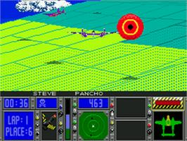 In game image of Racing Aces on the Sega CD.