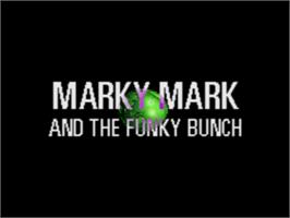 Title screen of Make My Video: Marky Mark and the Funky Bunch on the Sega CD.
