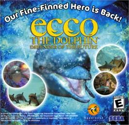 Advert for Ecco the Dolphin: Defender of the Future on the Sega Dreamcast.