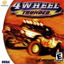 Box cover for 4 Wheel Thunder on the Sega Dreamcast.