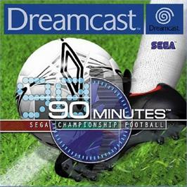 Box cover for 90 Minutes: Sega Championship Football on the Sega Dreamcast.