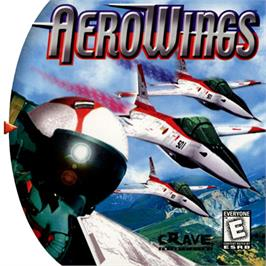 Box cover for Aerowings on the Sega Dreamcast.
