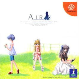 Box cover for Air on the Sega Dreamcast.
