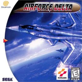 Box cover for Airforce Delta on the Sega Dreamcast.