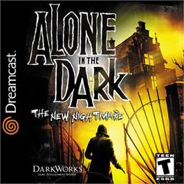 Box cover for Alone in the Dark: The New Nightmare on the Sega Dreamcast.
