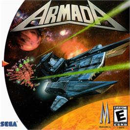 Box cover for Armada on the Sega Dreamcast.