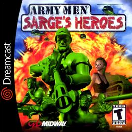 Box cover for Army Men: Sarge's Heroes on the Sega Dreamcast.