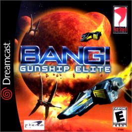 Box cover for BANG! Gunship Elite on the Sega Dreamcast.