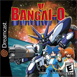 Box cover for Bangai-O on the Sega Dreamcast.