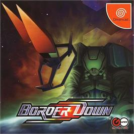 Box cover for Border Down on the Sega Dreamcast.