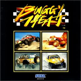 Box cover for Buggy Heat on the Sega Dreamcast.