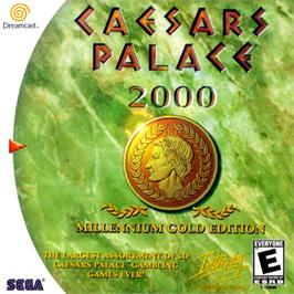 Box cover for Caesar's Palace 2000: Millennium Gold Edition on the Sega Dreamcast.