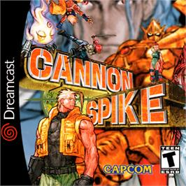 Box cover for Cannon Spike on the Sega Dreamcast.