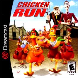 Box cover for Chicken Run on the Sega Dreamcast.