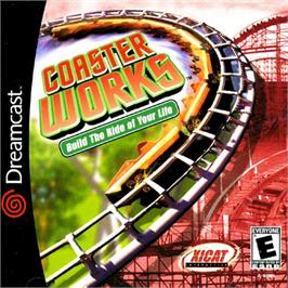 Box cover for Coaster Works on the Sega Dreamcast.
