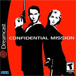Box cover for Confidential Mission on the Sega Dreamcast.