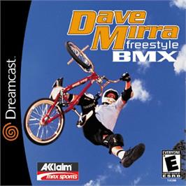 Box cover for Dave Mirra Freestyle BMX on the Sega Dreamcast.