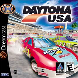 Box cover for Daytona USA on the Sega Dreamcast.