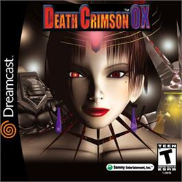 Box cover for Death Crimson OX on the Sega Dreamcast.
