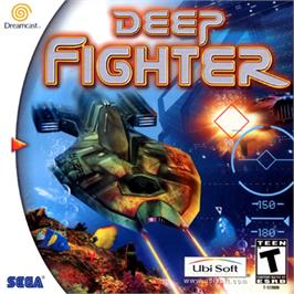 Box cover for Deep Fighter on the Sega Dreamcast.