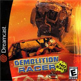 Box cover for Demolition Racer: No Exit on the Sega Dreamcast.