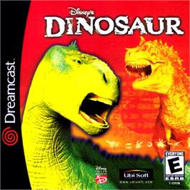 Box cover for Dinosaur on the Sega Dreamcast.