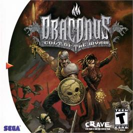 Box cover for Draconus: Cult of the Wyrm on the Sega Dreamcast.