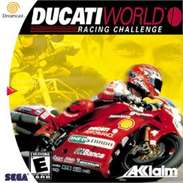 Box cover for Ducati World: Racing Challenge on the Sega Dreamcast.