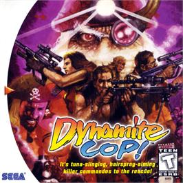 Box cover for Dynamite Cop on the Sega Dreamcast.