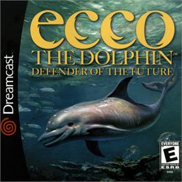 Box cover for Ecco the Dolphin: Defender of the Future on the Sega Dreamcast.
