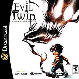 Box cover for Evil Twin: Cyprien's Chronicles on the Sega Dreamcast.