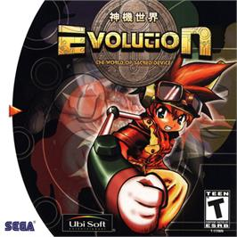 Box cover for Evolution: The World of Sacred Device on the Sega Dreamcast.