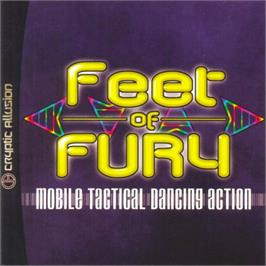 Box cover for Feet of Fury on the Sega Dreamcast.