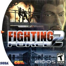 Box cover for Fighting Force 2 on the Sega Dreamcast.