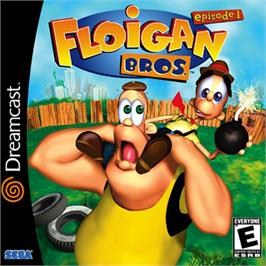 Box cover for Floigan Brothers: Episode 1 on the Sega Dreamcast.