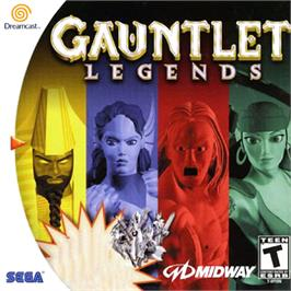 Box cover for Gauntlet Legends on the Sega Dreamcast.