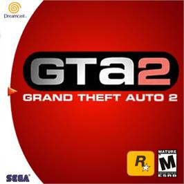 Box cover for Grand Theft Auto 2 on the Sega Dreamcast.