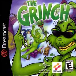 Box cover for Grinch on the Sega Dreamcast.