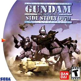 Box cover for Gundam Side Story 0079: Rise From the Ashes on the Sega Dreamcast.