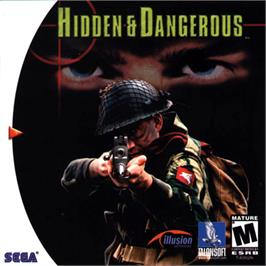 Box cover for Hidden & Dangerous on the Sega Dreamcast.