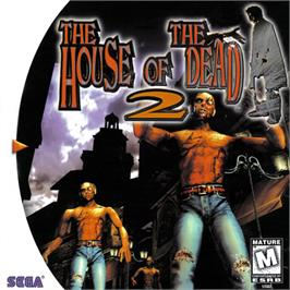 Box cover for House of the Dead 2 on the Sega Dreamcast.