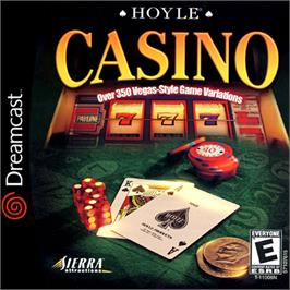 Box cover for Hoyle Casino on the Sega Dreamcast.