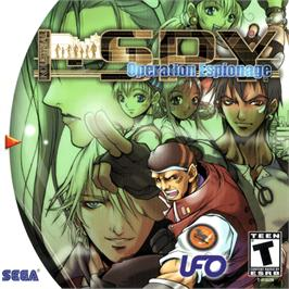 Box cover for Industrial Spy: Operation Espionage on the Sega Dreamcast.