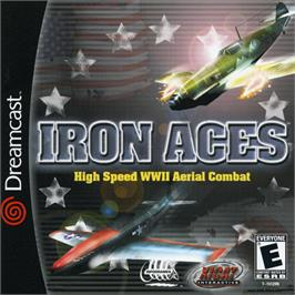 Box cover for Iron Aces on the Sega Dreamcast.