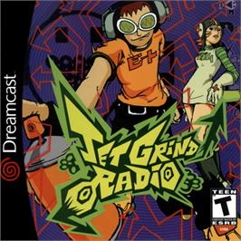Box cover for Jet Grind Radio on the Sega Dreamcast.