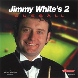 Box cover for Jimmy White's 2: Cueball on the Sega Dreamcast.